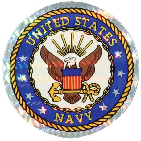 Decal-NAVY 3""