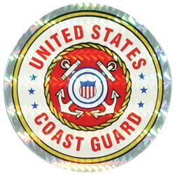 Decal-COAST GUARD