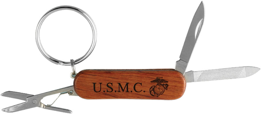Key Chain-Knife/USMC
