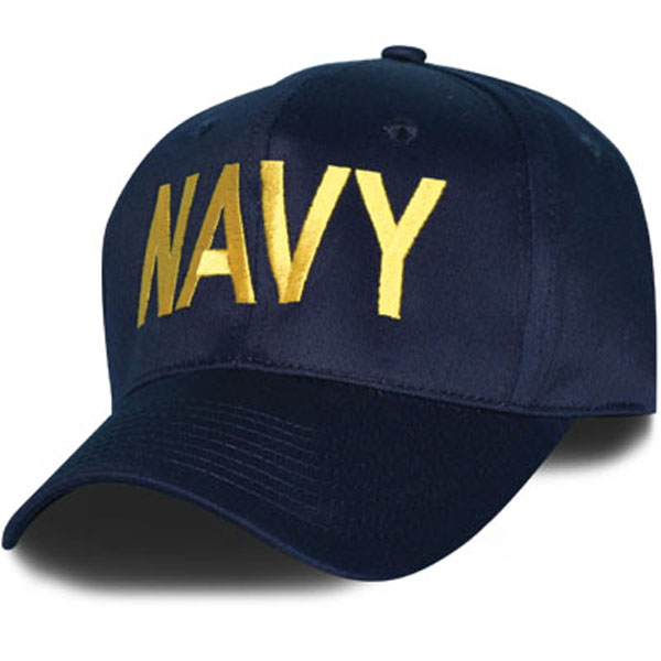 Cap-Navy With Gold letters