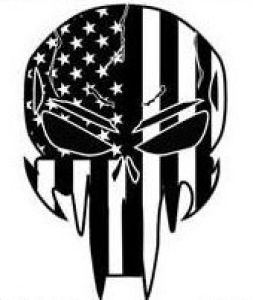 Decal-New Patriotic Punisher
