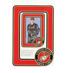 Magnet-Photo Frame Marine Corps
