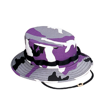 Jungle Hat-Purple