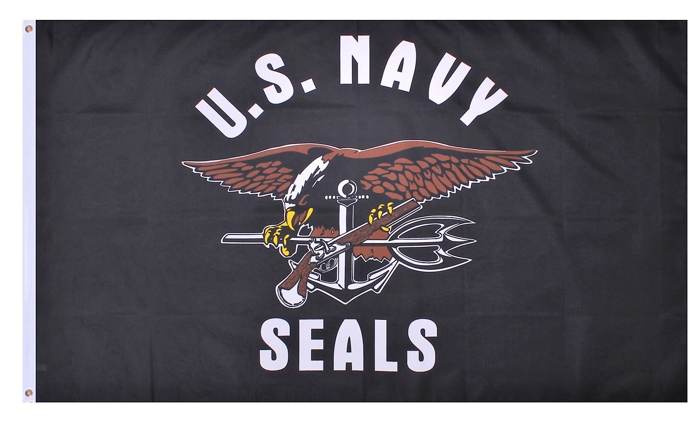 Navy Seals 3'x5' Flag