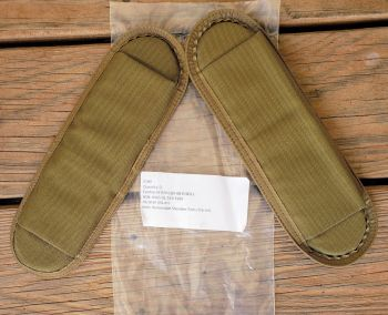 NEW USMC-Coyote Removable shoulder Pads slip on (set of 2)