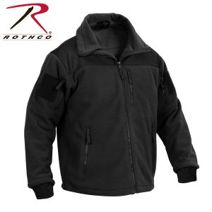 Spec Ops Tactical Fleece Jacket Black or coyote