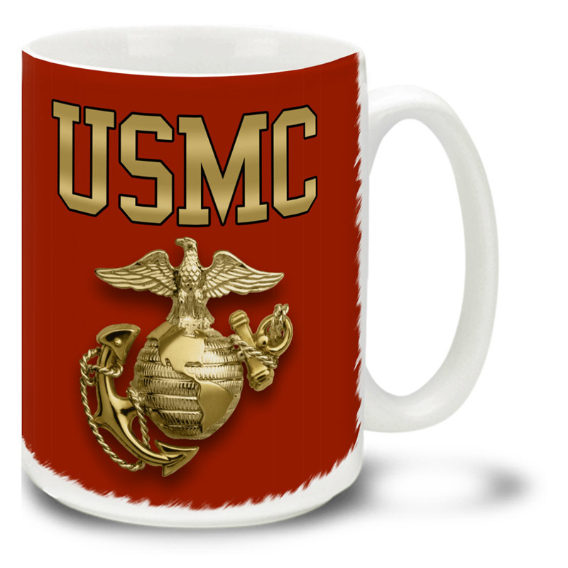 Coffee Cup-USMC With EGA