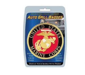 Grill Badge-United States Marine Corps