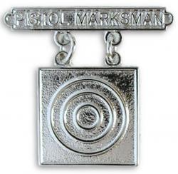 Breast Badge-Pistol Marksman