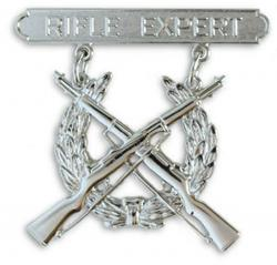Breast Badge-Rifle Expert