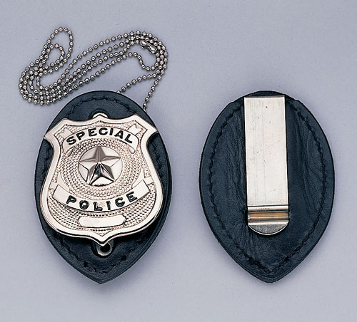 Police badge necklace necklace wallpaper gallerychitrak ect badge holder clip on police fire rescue ro 1131 custom police badge pendant aloadofball Image collections